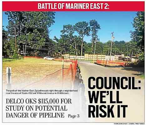 County council OKs $115,000 risk assessment study on pipeline