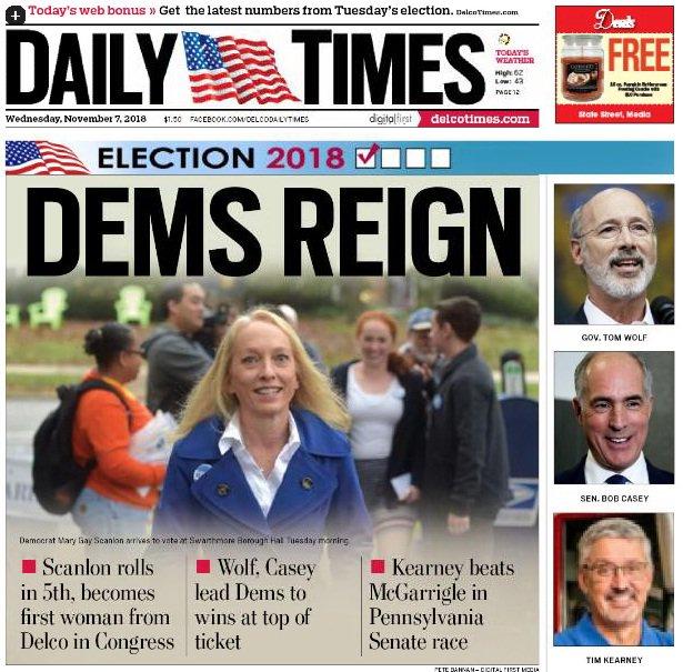 Scanlon makes history as Delco's first congresswoman