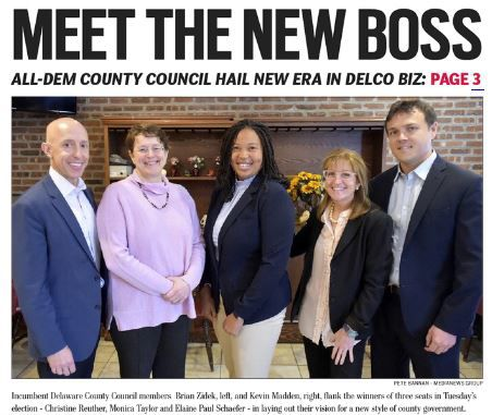 Delco Dems: 'Government is here to work for you'